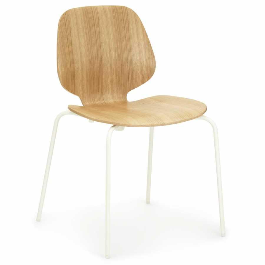 Normann Copenhagen My Chairs - Oak / White
