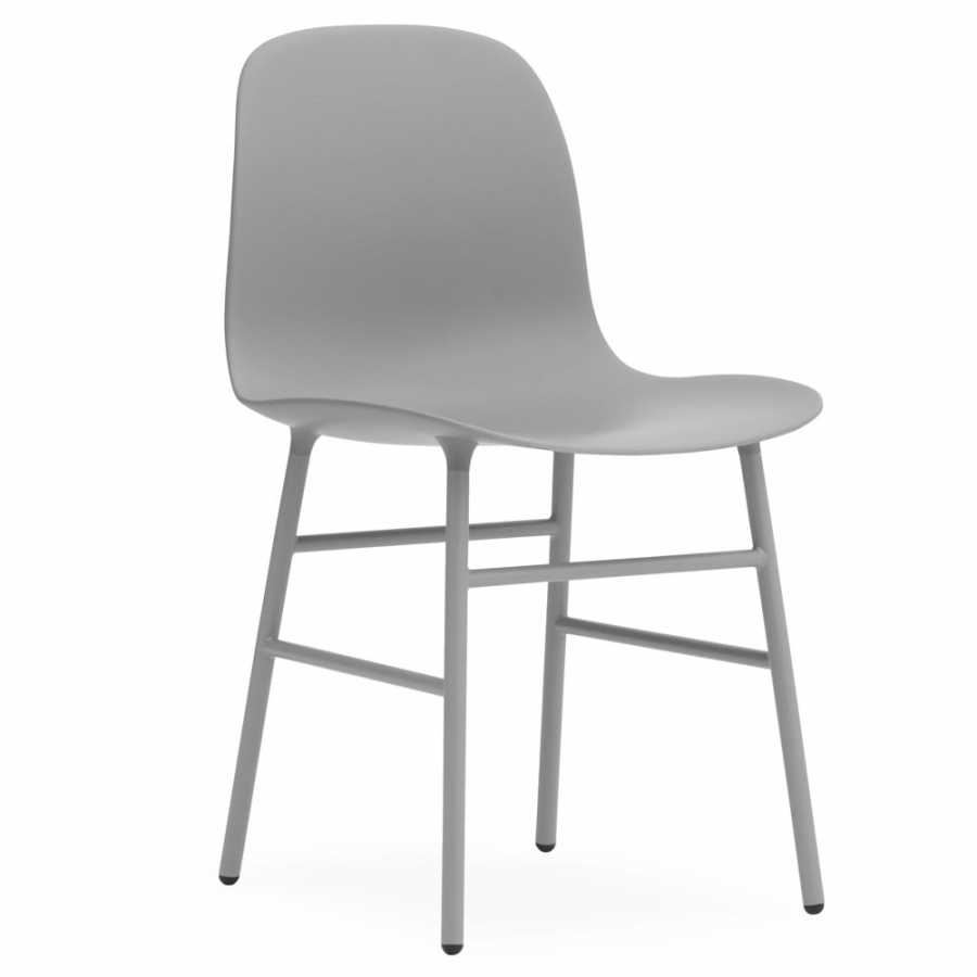 Normann Copenhagen Form Chair Steel - Grey