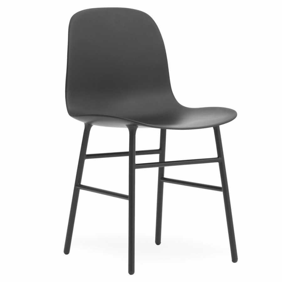 Normann Copenhagen Form Chair Steel - Black