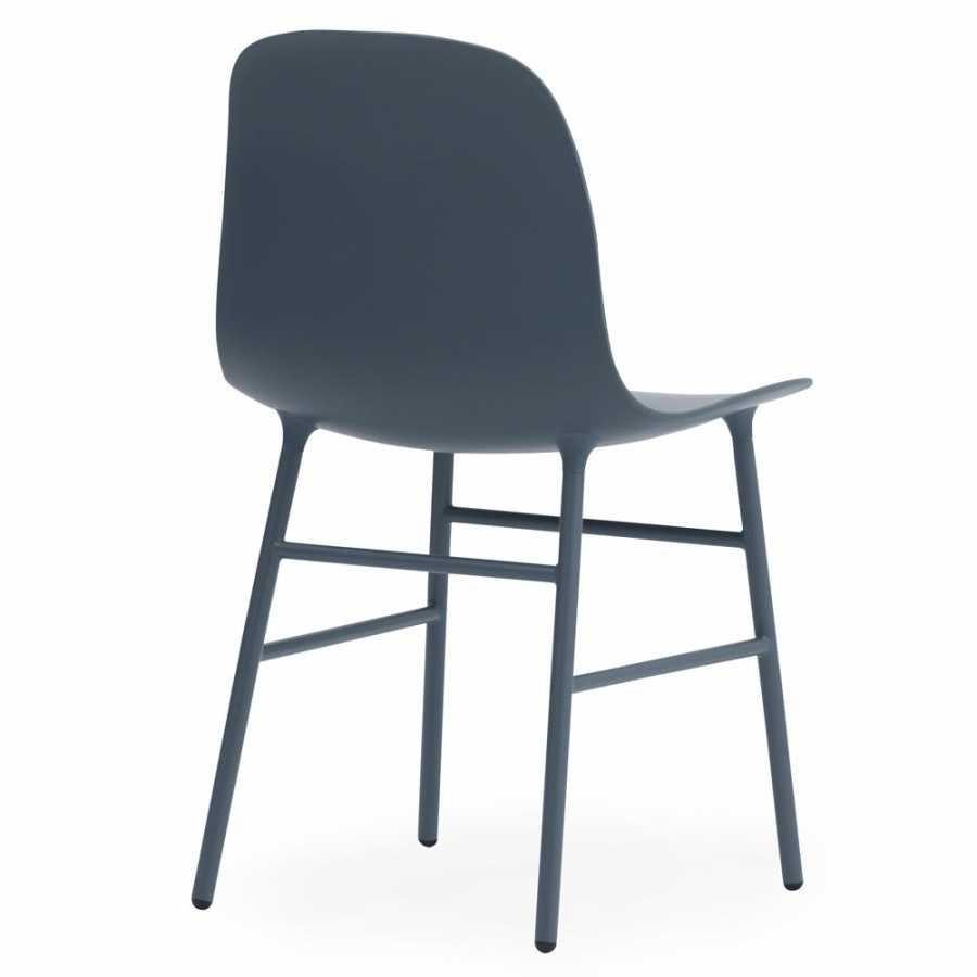 Normann Copenhagen Form Chair Steel - Blue