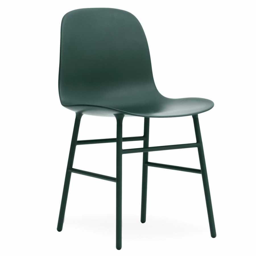 Normann Copenhagen Form Chair Steel - Green