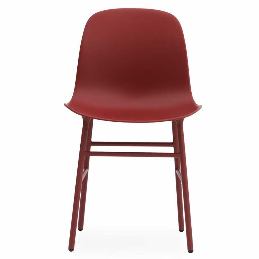 Normann Copenhagen Form Chair Steel - Red