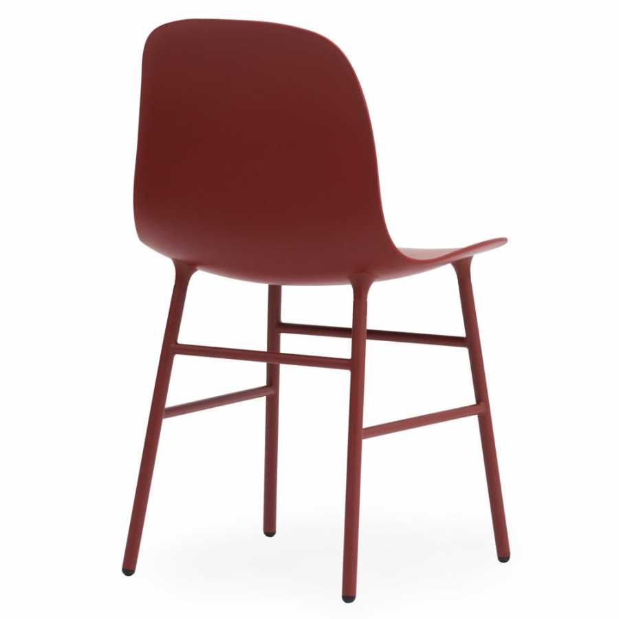 Normann Copenhagen Form Chair Steel - Red