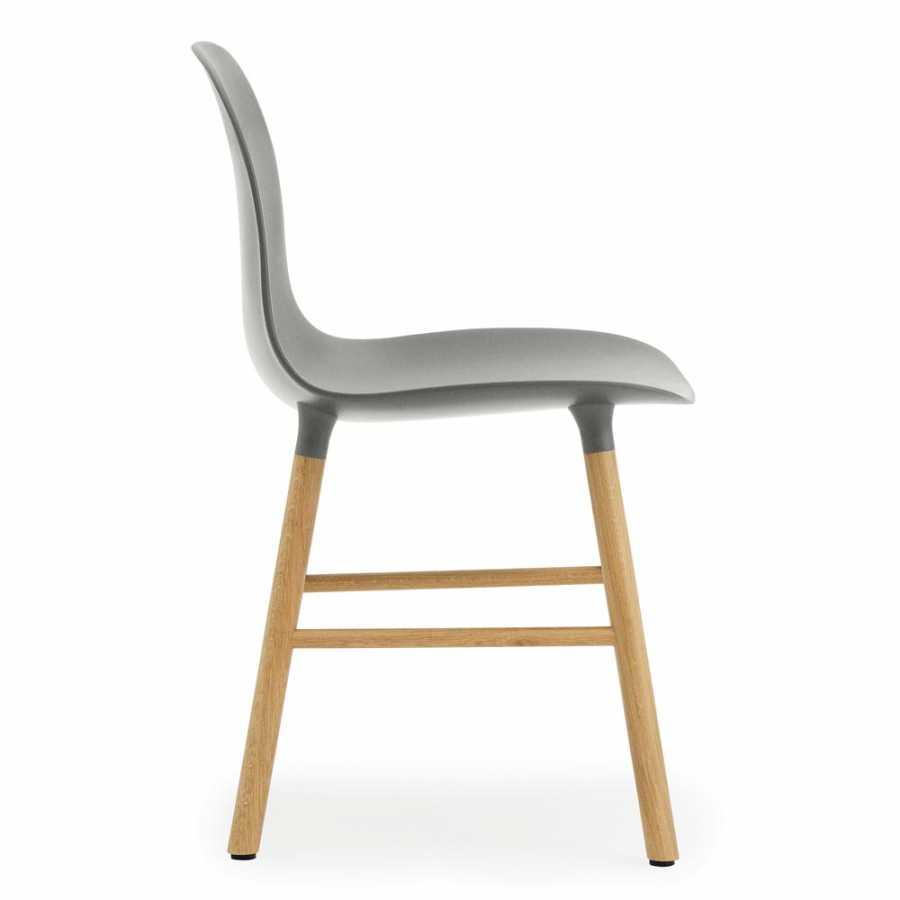 Normann Copenhagen Form Chair - Oak - Grey