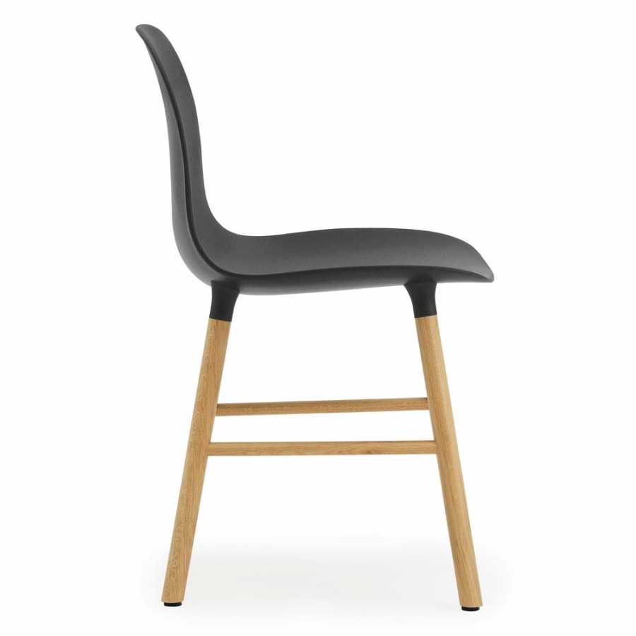 Normann Copenhagen Form Chair - Oak - Black