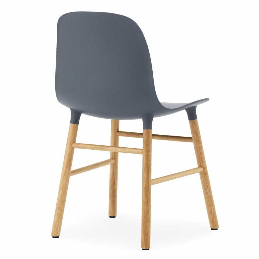 Normann Copenhagen Form Chair - Oak - Blue