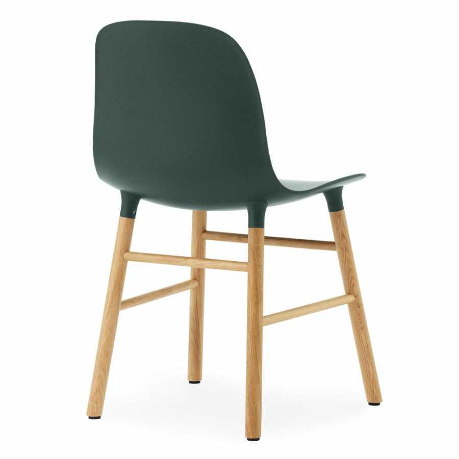Normann Copenhagen Form Chair - Oak - Green