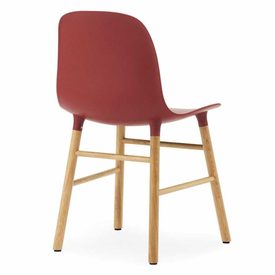 Normann Copenhagen Form Chair - Oak - Red