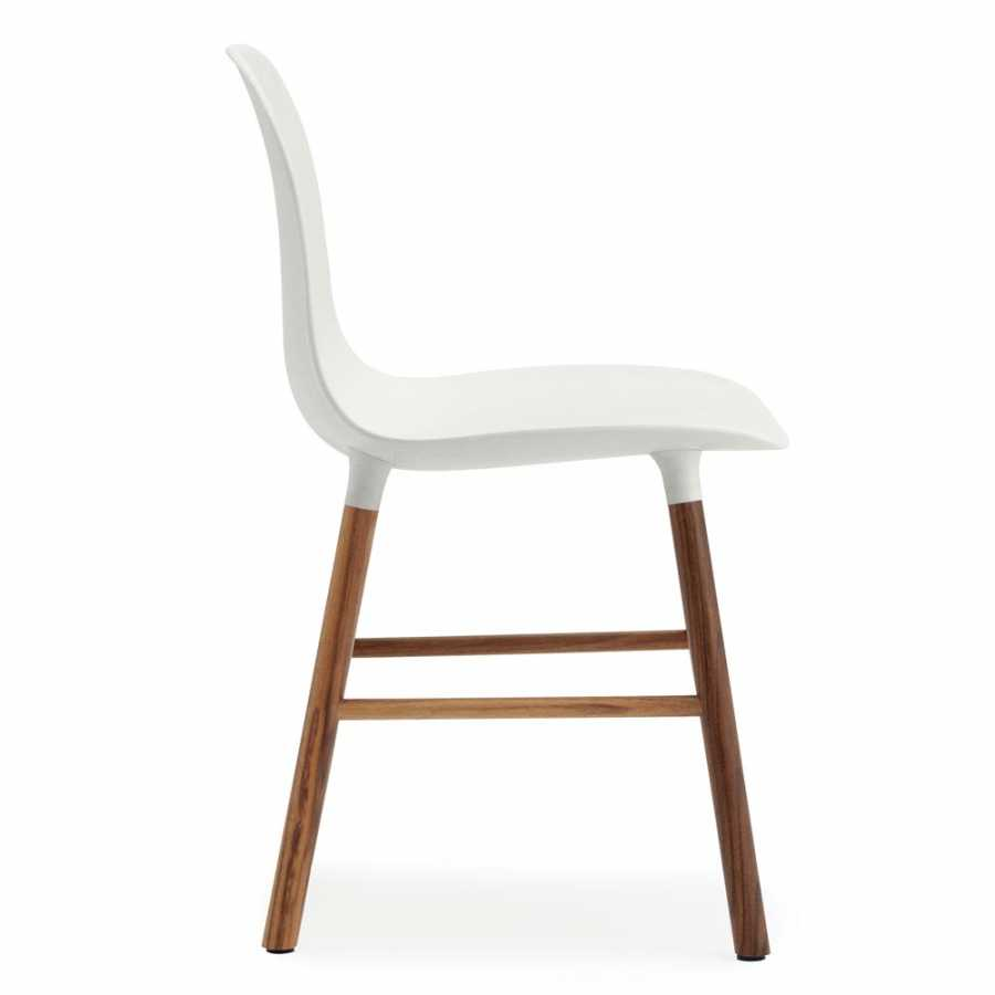 Normann Copenhagen Form Chair - Walnut - White