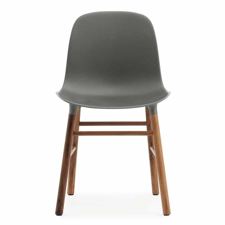 Normann Copenhagen Form Chair - Walnut - Grey