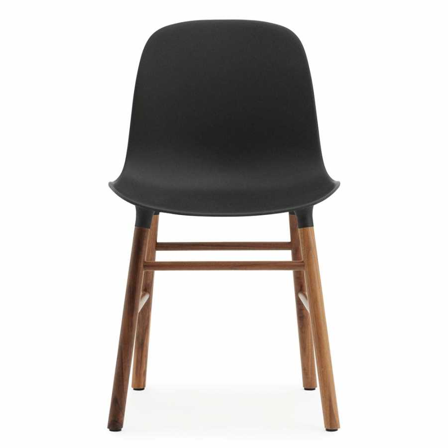 Normann Copenhagen Form Chair - Walnut - Black