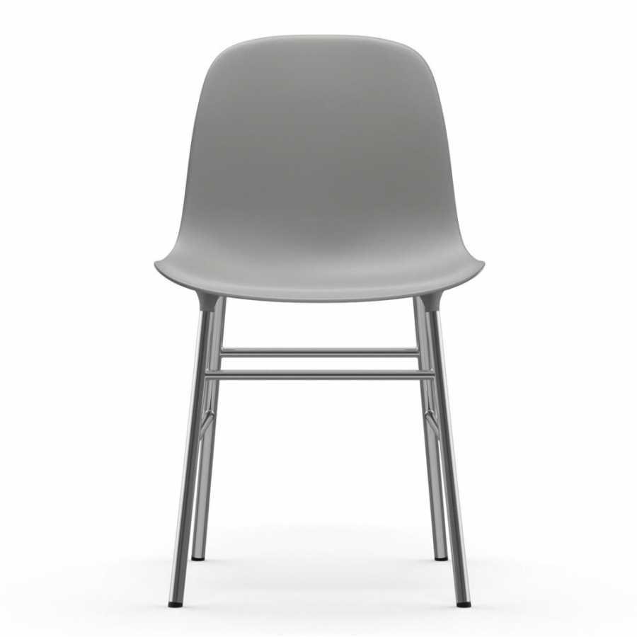 Normann Copenhagen Form Chair Chrome - Grey