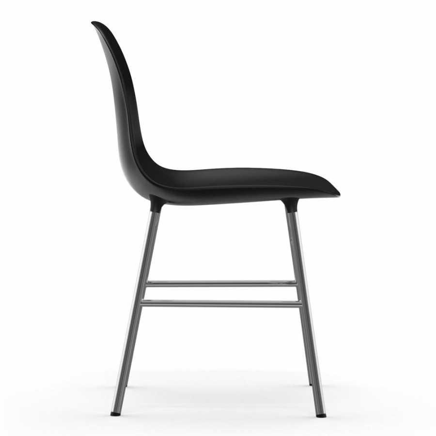 Normann Copenhagen Form Chair Chrome - Black
