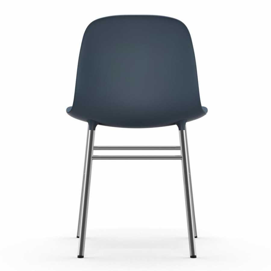 Normann Copenhagen Form Chair Chrome - Blue