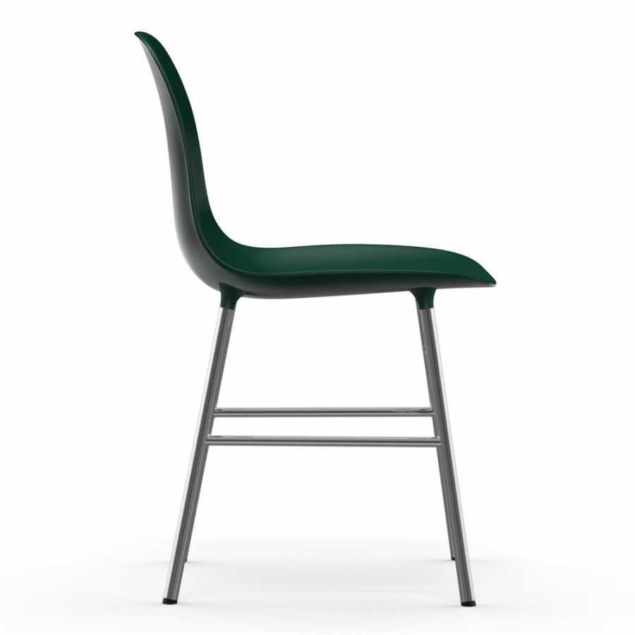 Normann Copenhagen Form Chair Chrome - Green
