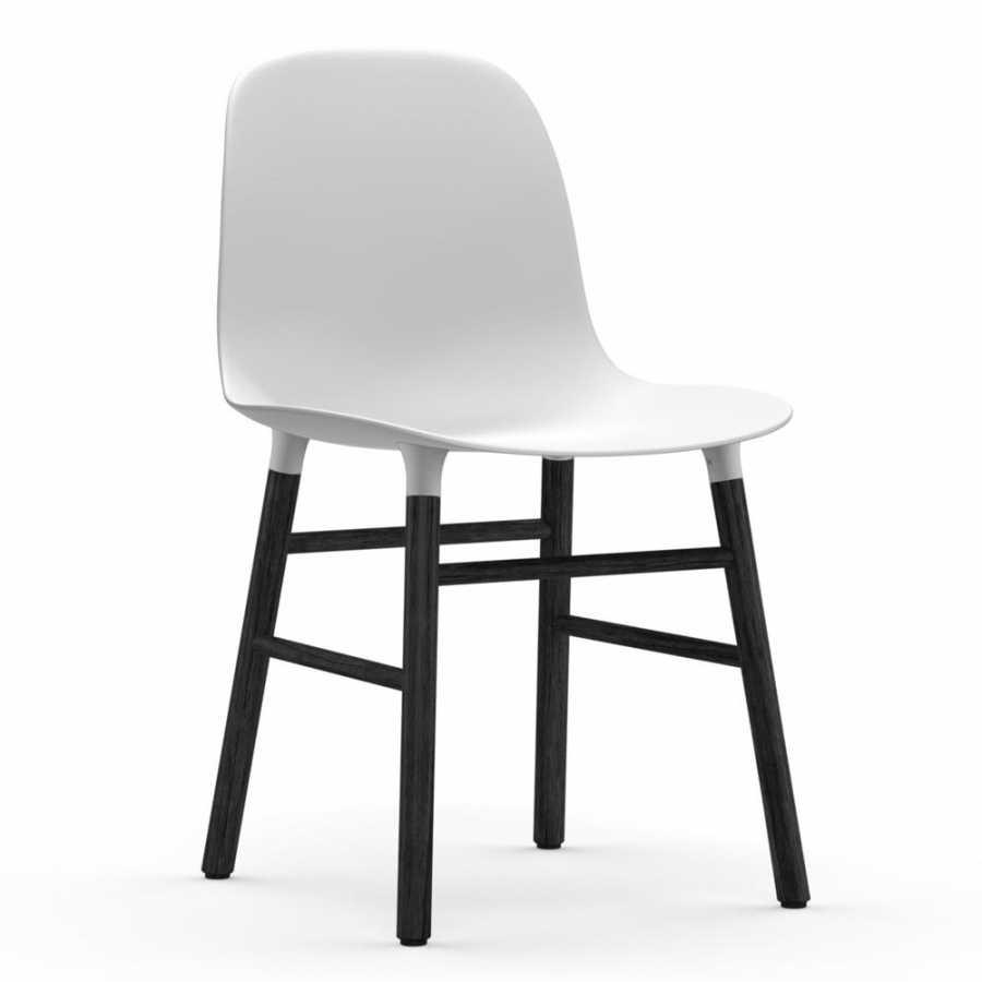 Normann Copenhagen Form Chair Black - White