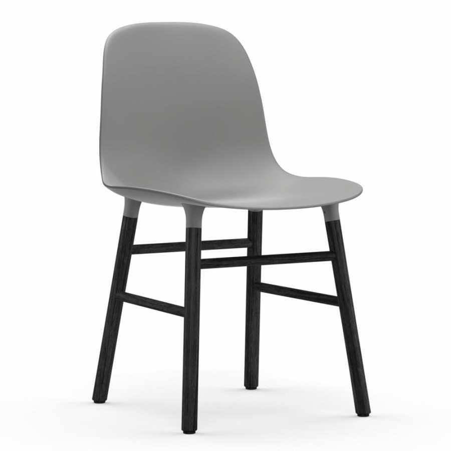 Normann Copenhagen Form Chair Black - Grey