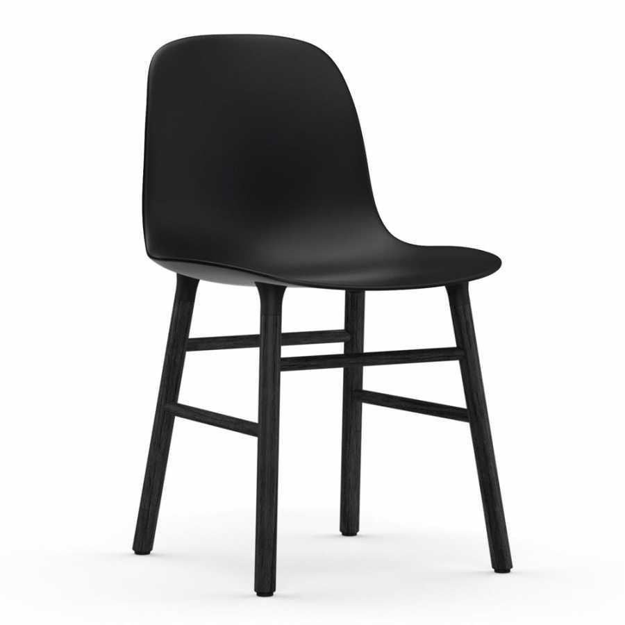 Normann Copenhagen Form Chair Black - Black