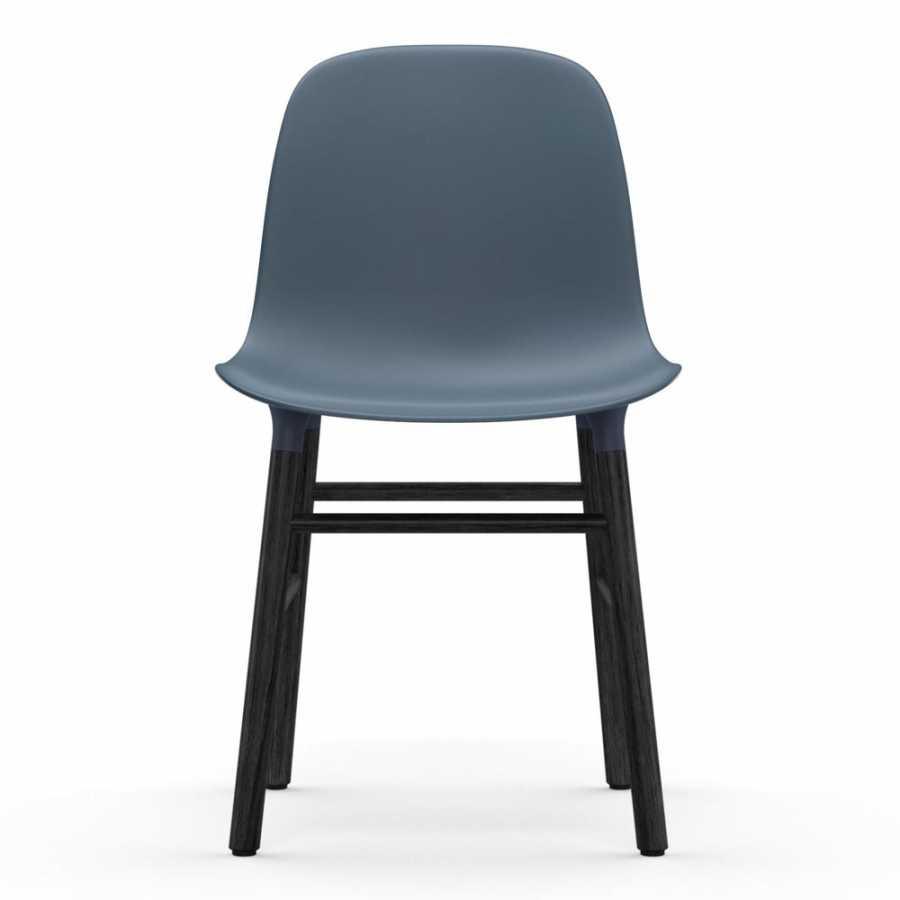 Normann Copenhagen Form Chair Black - Blue