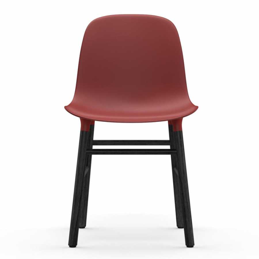 Normann Copenhagen Form Chair Black - Red