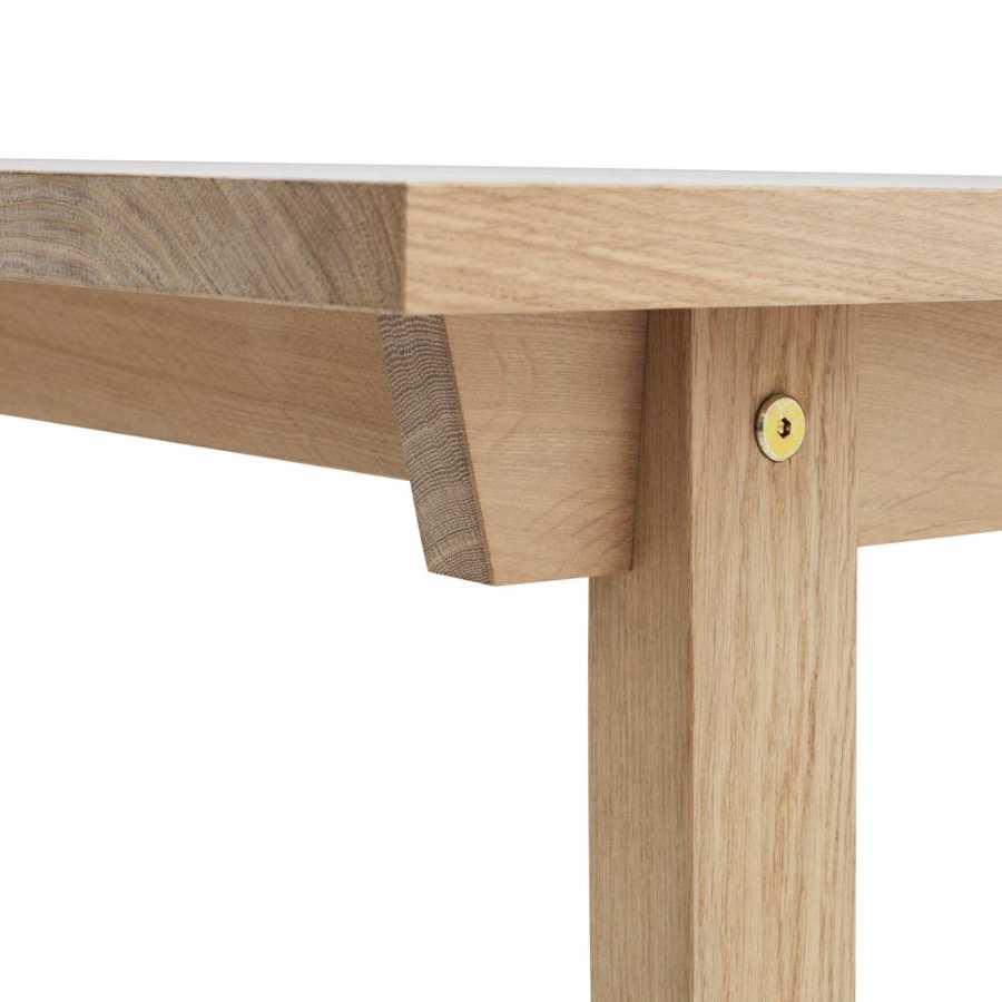 Normann Copenhagen Slice Dining Tables - Oak