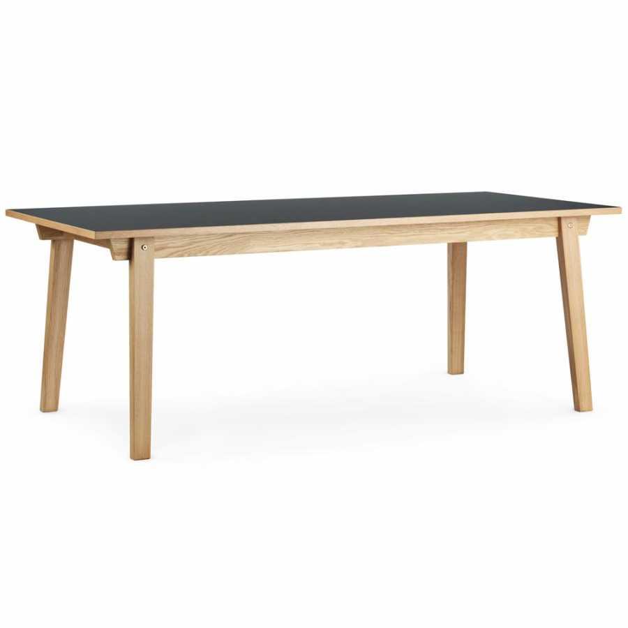Normann Copenhagen Slice Dining Tables - Grey