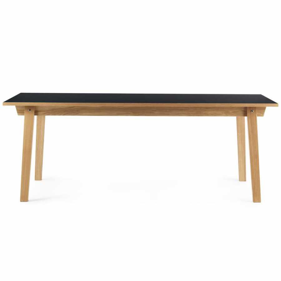 Normann Copenhagen Slice Dining Tables - Black