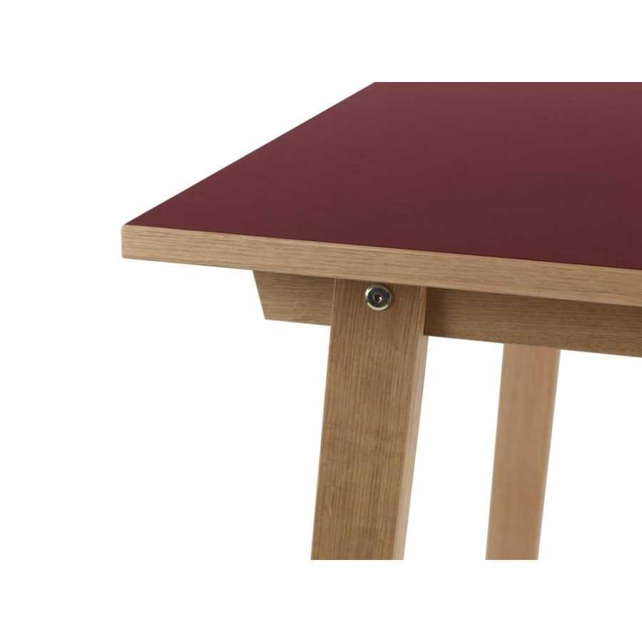 Normann Copenhagen Slice Dining Tables - Burgundy