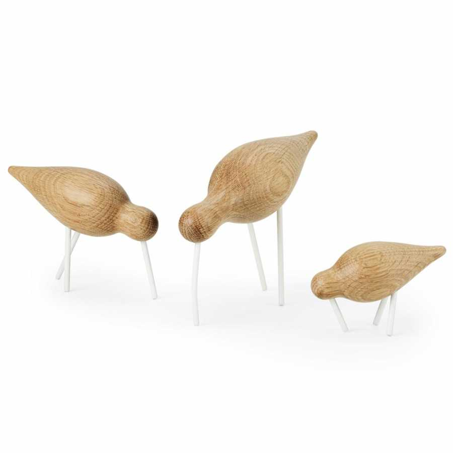 Normann Copenhagen Shorebird Ornaments - White