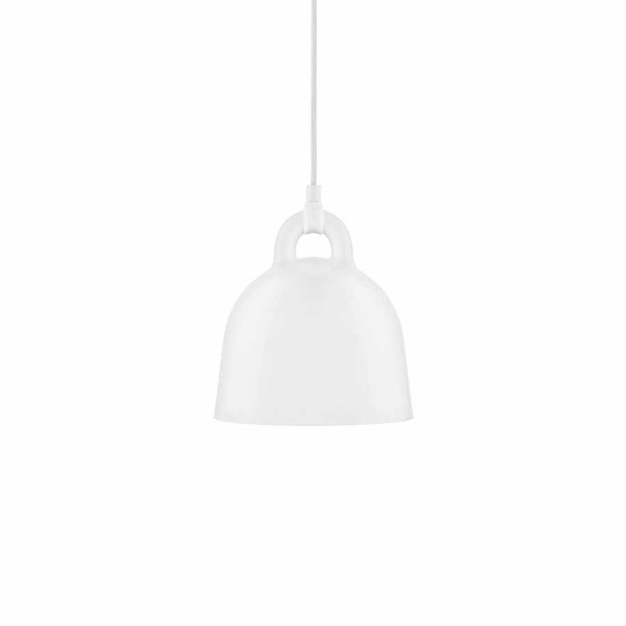 Normann Copenhagen Bell Pendant Light - Extra Small - White