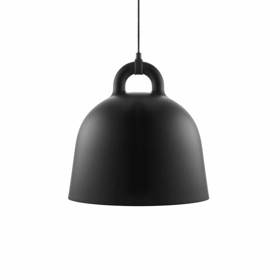 Normann Copenhagen Bell Pendant Light - Medium - Black