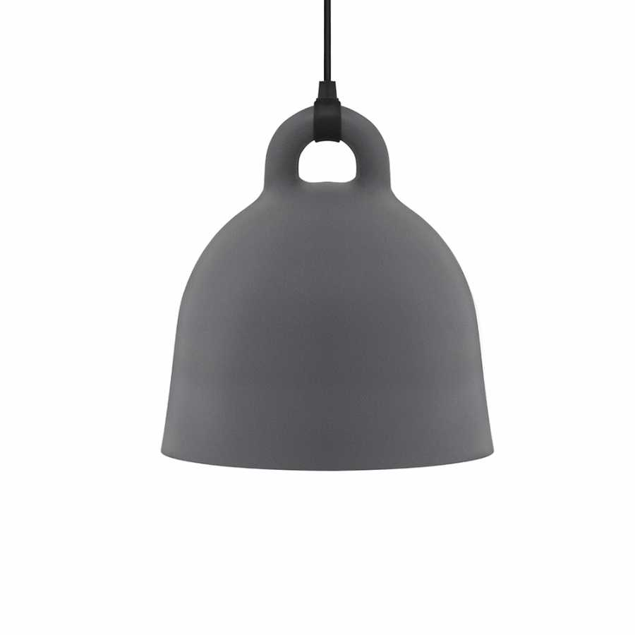 Normann Copenhagen Bell Pendant Light - Medium - Grey