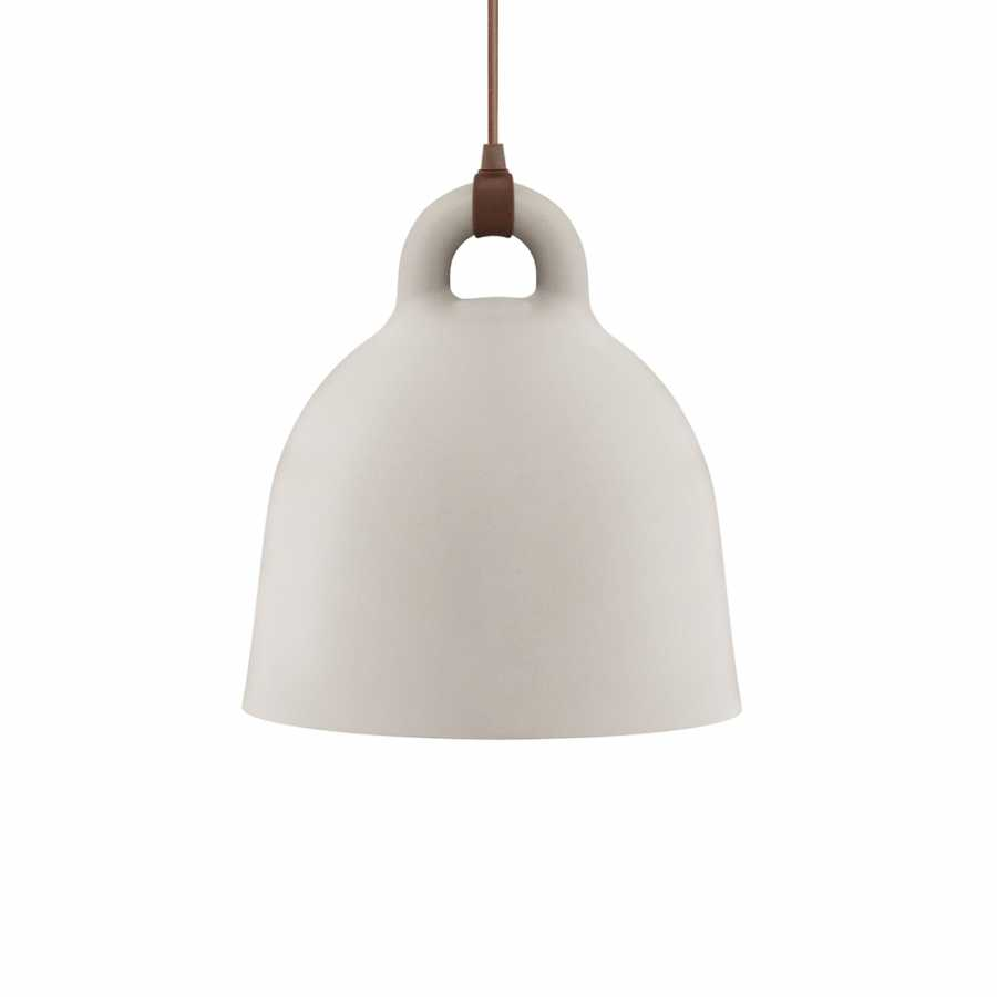 Normann Copenhagen Bell Pendant Light - Medium - Sand