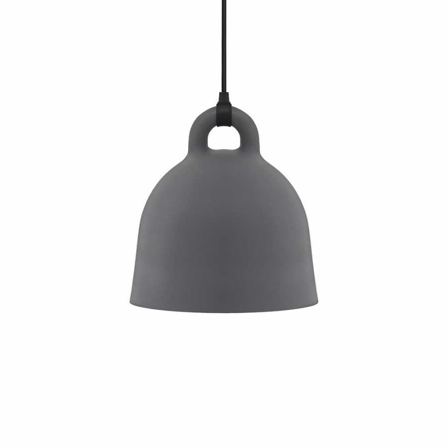 Normann Copenhagen Bell Pendant Light - Small - Grey