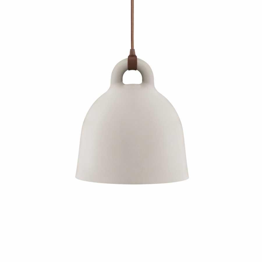 Normann Copenhagen Bell Pendant Light - Small - Sand