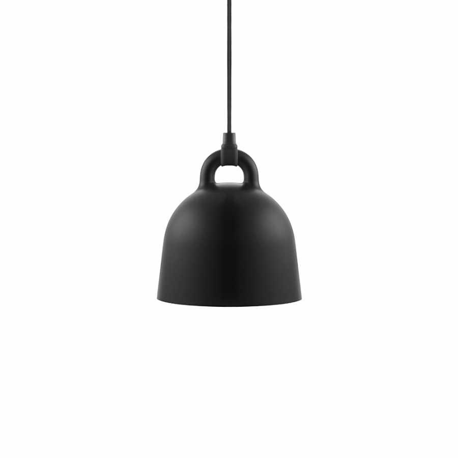 Normann Copenhagen Bell Pendant Light - Extra Small - Black