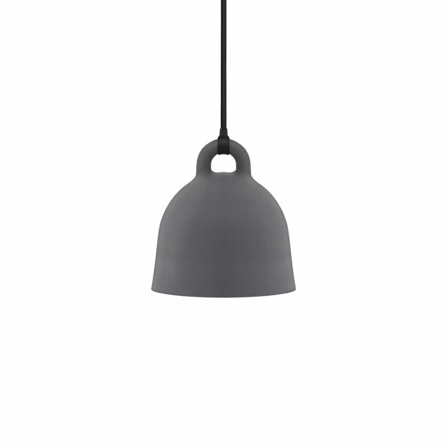 Normann Copenhagen Bell Pendant Light - Extra Small - Grey