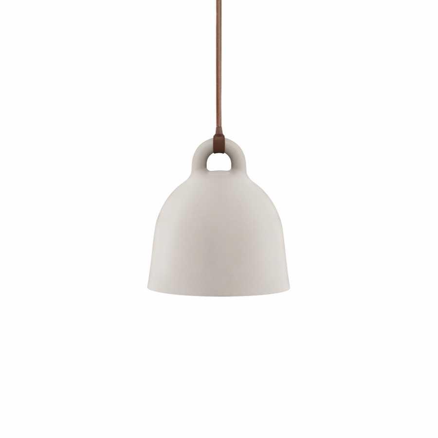 Normann Copenhagen Bell Pendant Light - Extra Small - Sand
