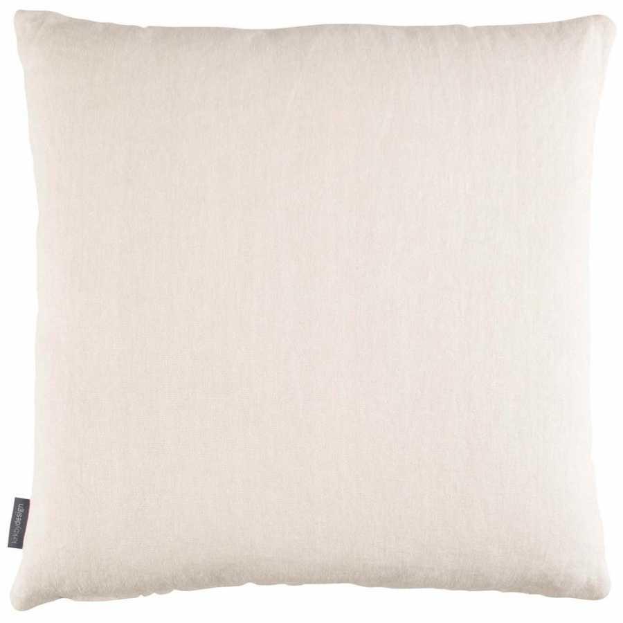 Kirkby Design Parquet Cushion - Chalk