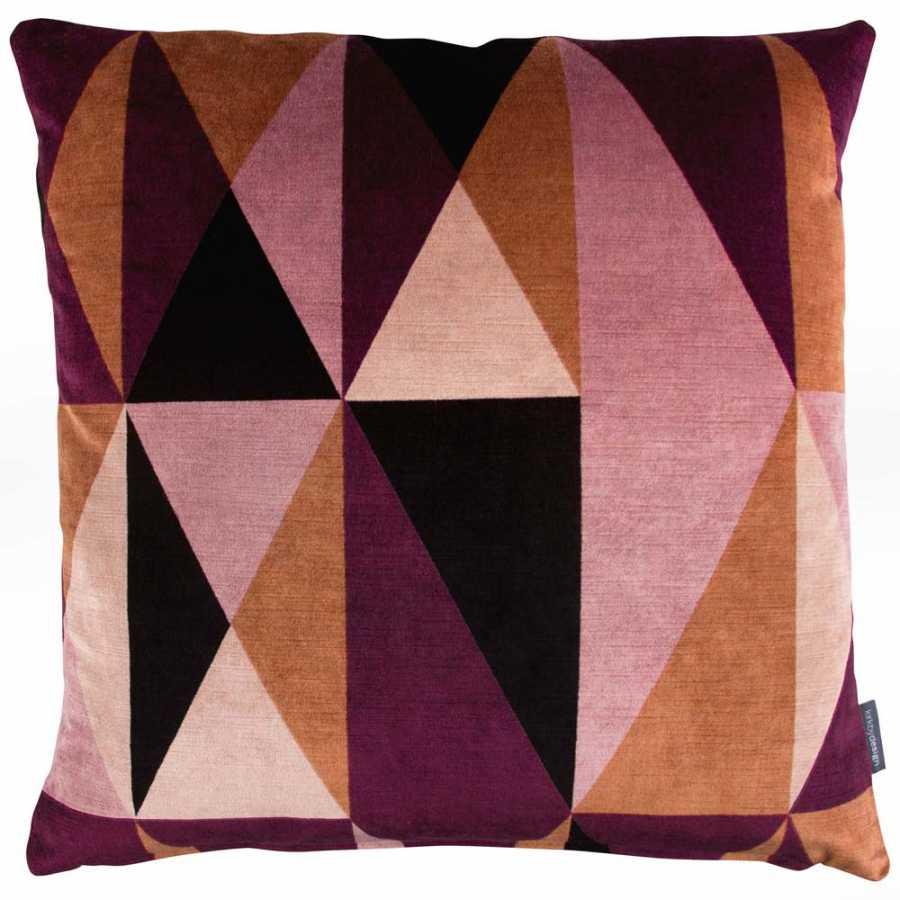 Kirkby Design Arco Cushion - Plum