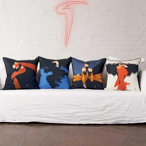 Zinc Cushions