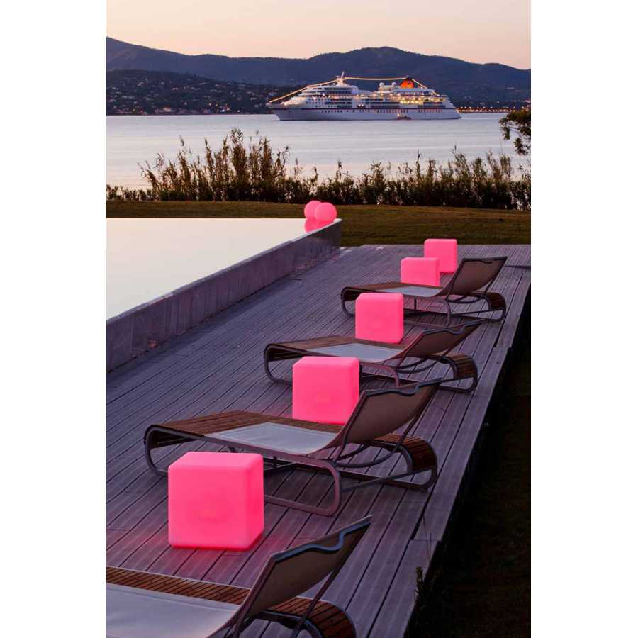 Skyline Design Cube Stools for Outdoors