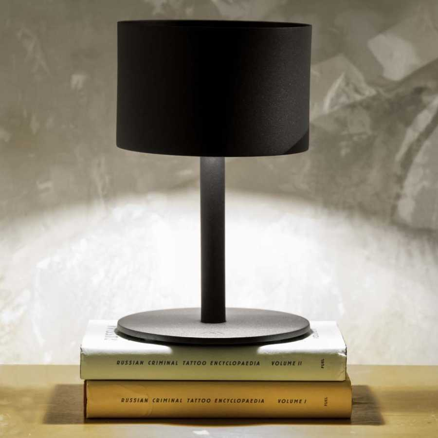 Skyline Design Pose Table Lamp - Carbon - Round