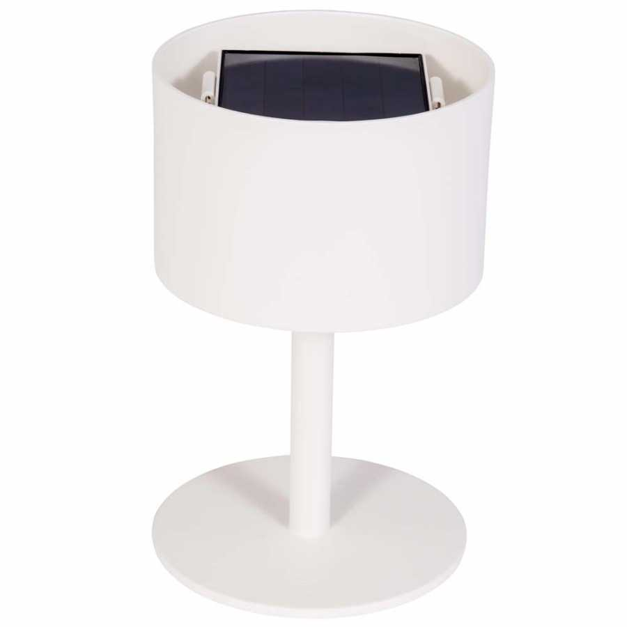 Skyline Design Pose Table Lamp - White - Round