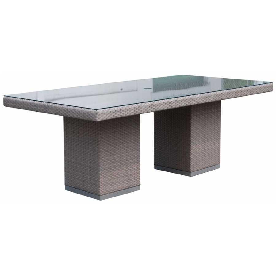 Skyline Design Pacific Silver Walnut Rectangular Dining Table