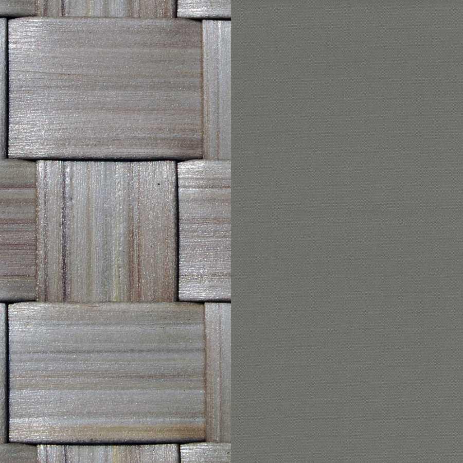 Skyline Design Strips Silver Walnut Four Poster Daybed