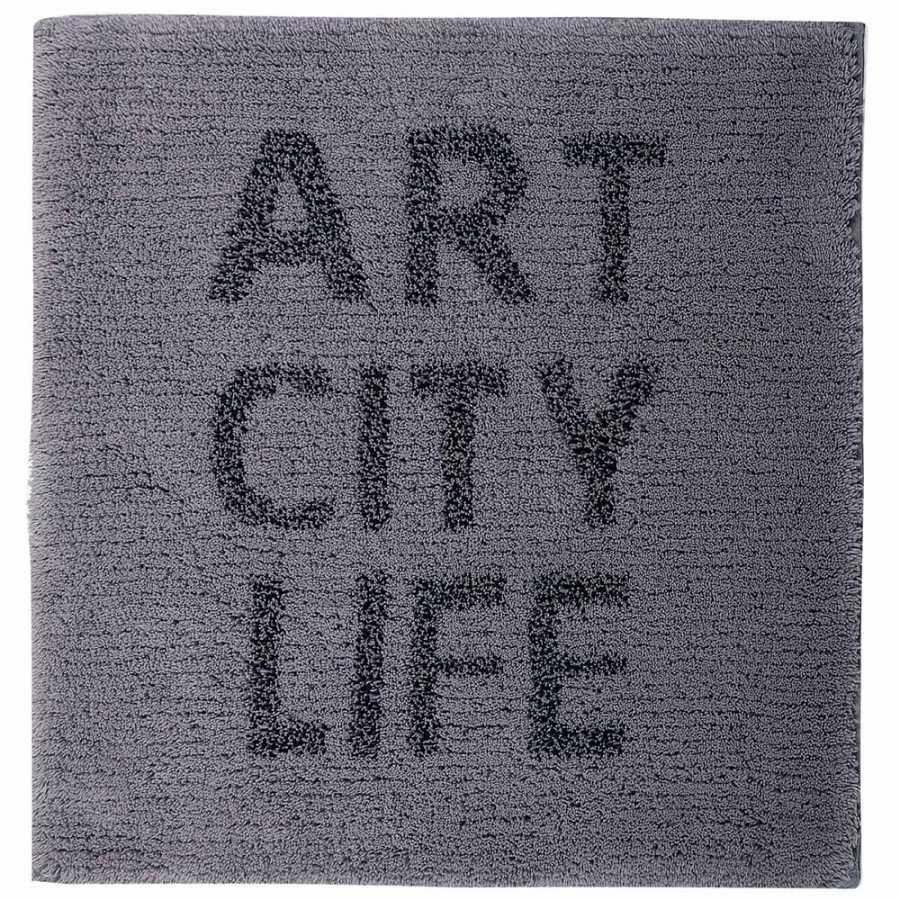 Sorema Art City Life Bath Mat - Grey