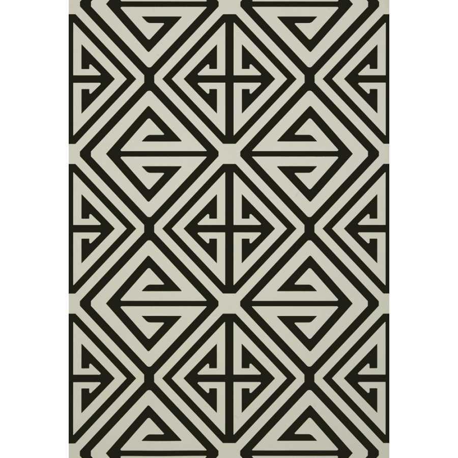 Thibaut Bridgehampton Demetrius T24305 Black Wallpaper