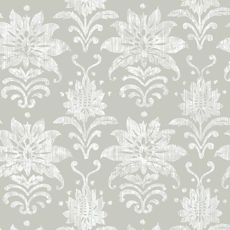 Thibaut Bridgehampton Tanglewood T24373 Grey Wallpaper