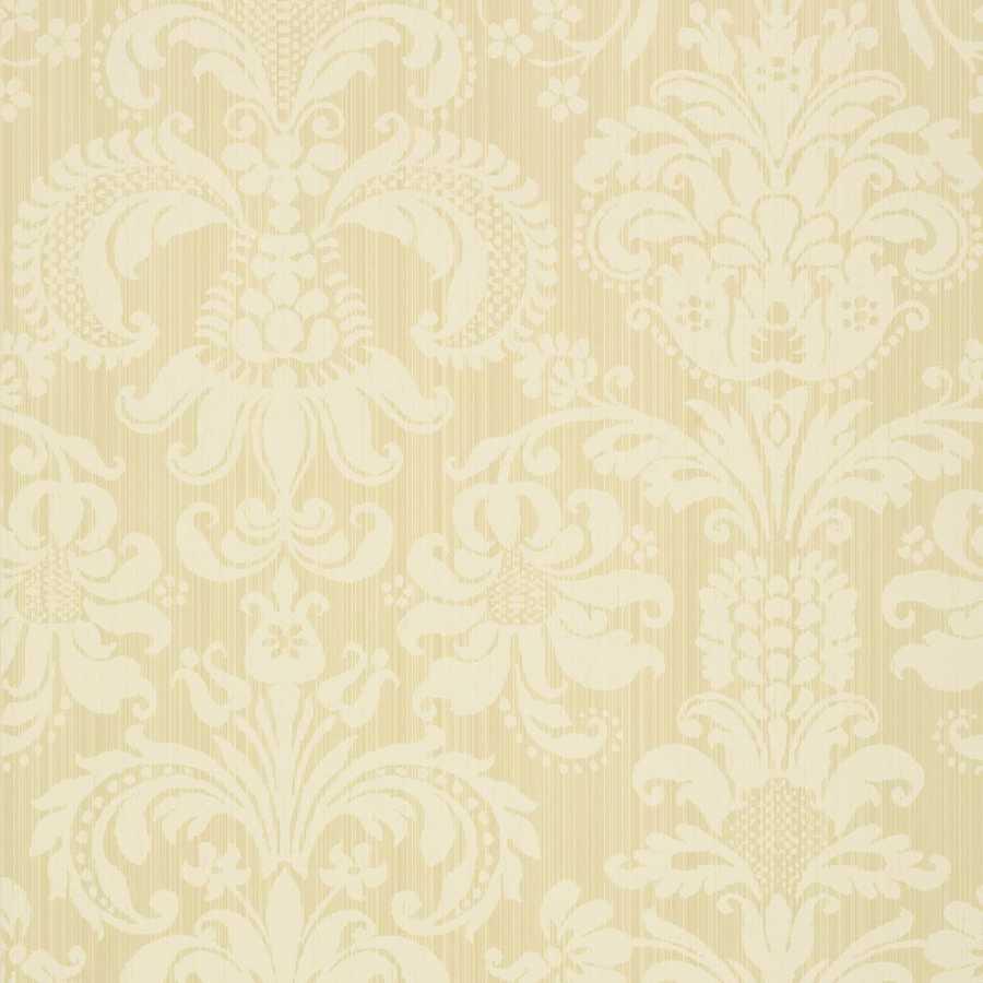Thibaut Damask Resource 4 Ashley T89166 Butter Wallpaper